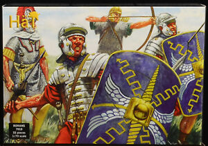 Airfix Roman Infantry - HO reissue in light gray color - HAT mib 7010