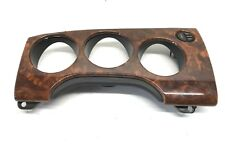 97-04 JAGUAR XK8  DASH INSTRUMENT CLUSTER WOOD GRAIN TRIM BEZEL USED OEM