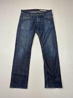TOMMY HILFIGER RYDER REGULAR Jeans - W34 L32 - Blue - Great Condition - Men's