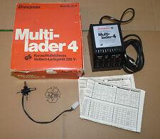 Graupner Multi-lader 4 220 Volt Ladegerät mit Ladekontrolle Nr. 3774