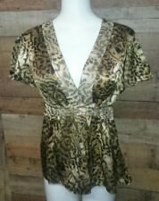 Dana Buchman Women's clothing blouse Size 10