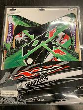N-Style Shroud Graphics Kit Paint 2009 Kawasaki KX250F Decals Stickers N40-3414
