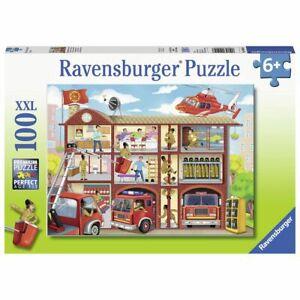 Ravensburger Puzzle 100 Piece Firehouse Frenzy