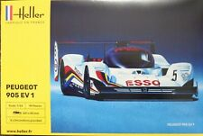 Heller 80718 Peugeot 905 Evo 1 Sportwagen WM in 1:24 Bausatz Rennwagen