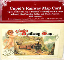 Valentine Card for TRAIN RAILWAY Lovers  MINT Condition Factory SEALED Shackman