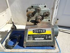"Vintage Oster No 10 Copper Brushing Cleaning Machine 1/2"" to 4"" capacity"