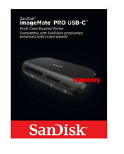 New Sandisk ImageMate Pro USB-C Multi Card Reader Writer Micro SD SDHC SDXC