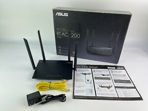 ASUS RT-AC1200 V2 AC1200 Dual Band WiFi Router Easy 3-Step