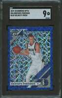 2019-20 DONRUSS OPTIC BLUE VELOCITY KRISTAPS PORZINGIS SGC 9