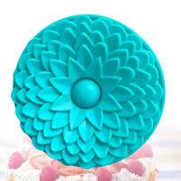 Sonnenblume Muster Silikon Backform Dessert Schokoladenform Tablett Kuchenform