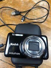 Kodak Easy Share M583 Digital 14MP Point and Shoot 8X zoom/wide camera w Memory