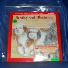 """""""BENTLEY AND BLUEBERRY""""  BOOK & AUDIO CASSETTE  *LIKE NEW*  ~FREE SHIPPING~"""