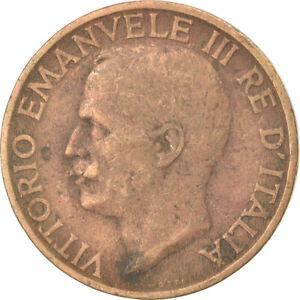 [#744676] Coin, Italy, Vittorio Emanuele III, 10 Centesimi, 1926, Rome