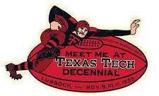 Texas Tech  University   Vintage Looking 1935  Travel Decal Sticker