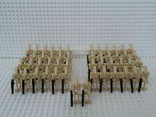 50x Kampfdroide (B1 Battle Droid) mit Blastern & Grundplatten - kompatibel