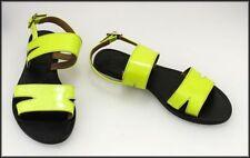 Buckle Block Heel T-Strap Sandals & Flip Flops for Women