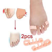 1 Pair Toe Separator Orthopedic Bunion Corrector Pain Relief Hallux Valgus