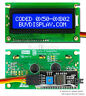 Blue IIC/I2C/TWI 16x2 Serial Character LCD Module Display for Arduino w/Library