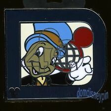 Disney Pin WDW 2011 Hidden Mickey Collection *Classic D* Series - Jiminy!