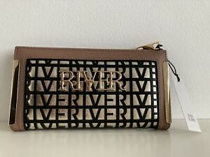 River Island   Brown laser cut purse wallet  new with tags