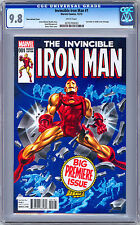 INVINCIBLE IRON MAN #1 CGC 9.8 TIMM VARIANT *1968 IRON MAN #1 HOMAGE COVER* 2015