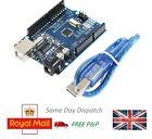 ATmega328P UNO R3 ATmega16U2 and USB Cable for Arduino - UK Seller