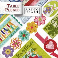 TABLE PLEASE PART ONE Quilt Applique Projects Spring Summer Birthdays Halvorsen