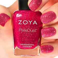 ZOYA PixieDust ZP682 MIRANDA rose matte sparkle nail polish lacquer~PIXIE DUST