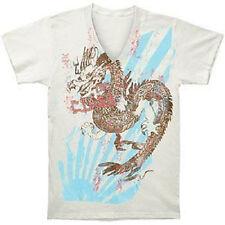 T-shirt, maglie e camicie da donna a manica corta bianca con scollo a v