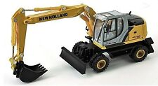 New Holland WE170 Wheeled Excavator 1/87th Scale Yellow/Grey/Black Tracked 48 Po