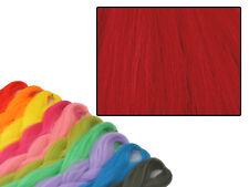 CYBERLOXSHOP PHANTASIA KANEKALON JUMBO BRAID BLOOD RED HAIR DREADS