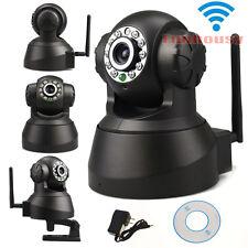Wireless Wifi P2P Indoor IP Camera Network Audio IR PTZ Day Night Home Security