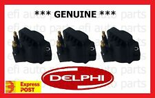 GENUINE DELPHI HOLDEN STATESMAN VQ VR VS WH WK IGNITION COIL SET SUPERCHARGED