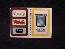 SUPER RARE ODDBALL New York Rangers Hockey Item, VINTAGE&MINT, NEED IT?