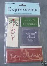 Dovecraft Navidad Deseos manchas en adornos para Cardmaking