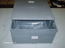 "Carlon Non Metallic Enclosure P/N E989R 12"" X 12"" X 6"" Deep Gray (NEW)"
