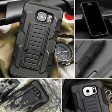 Protective Black Silicone Plastic Armor Case For  Samsung Galaxy S8