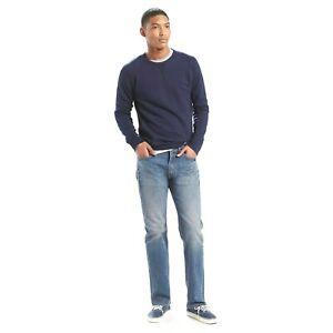 New LEVIS 505 Jeans Men Original Regular Fit Denim 00505-1441 30in 32L