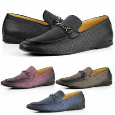 Round Moccasin Loafers Shoes for Men