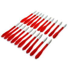 1 Pack (20pcs) 105mm Red 3 Wing Complete Arrows Bolt for Pistol Crossbow Hunting
