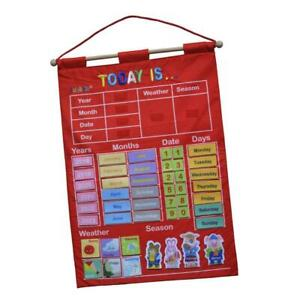 Calendar and Weather Chart for Kids