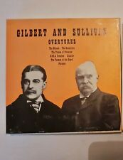 GILBERT AND SULLIVAN OVERTURES CONDUCTED BY KENNETH ALWYN ON REEL TO REEL TAPE
