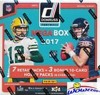 2017 Donruss Football EXCLUSIVE Factory Sealed 10 Pack MEGA Box w/3 HOBBY PACKS!