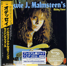 YNGWIE J.MALMSTEEN'S RISING FORCE-ODYSSEY-JAPAN MINI LP SHM-CD Ltd/Ed G00