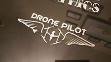Drone Pilot Wings Inspire Vinyl decal Sticker DJI  Phantom Vision.