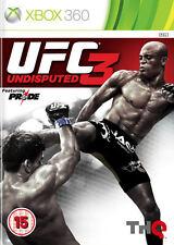 UFC indiscusso 3 XBOX 360 * in ottime condizioni *