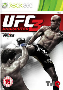 UFC Undisputed 3 XBox 360 *in Good Condition*
