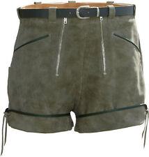 Boy Scout breve señora-cuero pantalones con cinturón de cuero shorts con regulador d38
