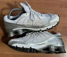 Nike Mens Shox Turbo Plus VII White Running Shoes Lace Up Size 10.5 324907-111