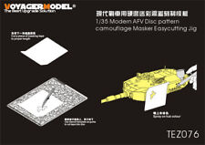 Voyager TEZ076 1/35 Modern AFV Disc pattern camouflage Masker Easycutting Jig